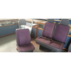 Mercedes Vito bestuurdersstoel+bijrijdersbank